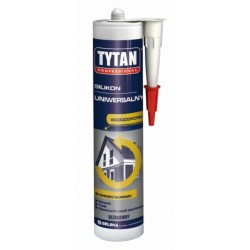 Silikon uniwersalny biały Tytan 310ml